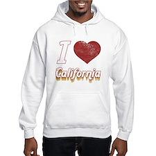I Love California (Vintage) Hoodie