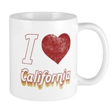 I Love California (Vintage) Mug