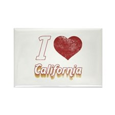 I Love California (Vintage) Rectangle Magnet