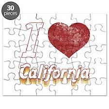 I Love California (Vintage) Puzzle