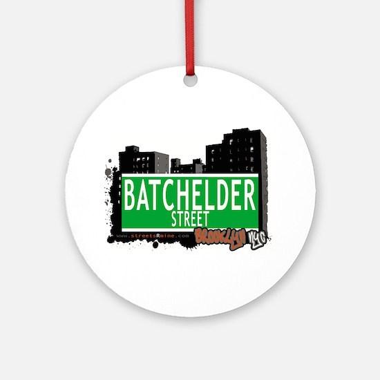 Batchelder street, BROOKLYN, NYC Ornament (Round)