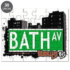 Bath avenue, BROOKLYN, NYC Puzzle