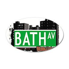 Bath avenue, BROOKLYN, NYC Wall Decal