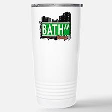 Bath avenue, BROOKLYN, NYC Travel Mug
