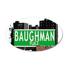 Baughman place, BROOKLYN, NYC Wall Decal