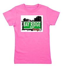 Bay Ridge place, BROOKLYN, NYC Girl's Tee