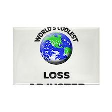 World's Coolest Loss Adjuster Rectangle Magnet