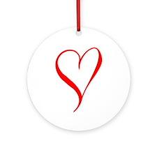 LOVE XXX Ornament (Round)