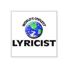 World's Coolest Lyricist Sticker