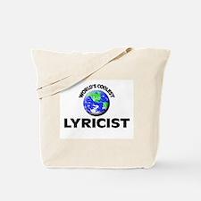 World's Coolest Lyricist Tote Bag