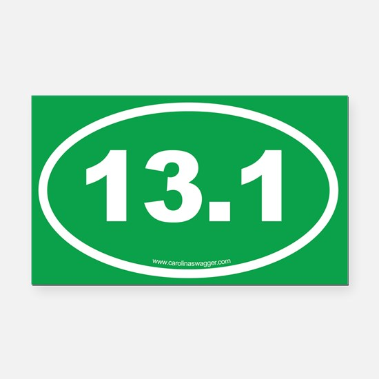 13 Rectangle Car Magnet