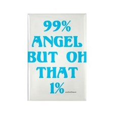 99% Angel...But Oh, that 1% Rectangle Magnet