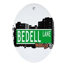 Bedell lane, BROOKLYN, NYC Ornament (Oval)