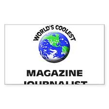 World's Coolest Magazine Journalist Decal