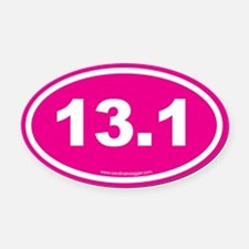 13 Oval Car Magnet