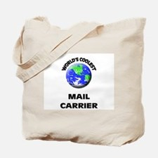 World's Coolest Mail Carrier Tote Bag