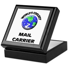 World's Coolest Mail Carrier Keepsake Box