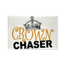 Crown Chaser Rectangle Magnet