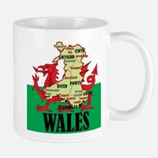 Wales Small Small Mug