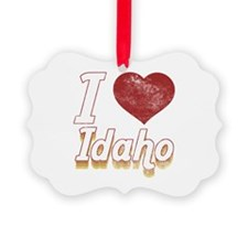 I Love Idaho (Vintage) Ornament