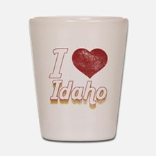 I Love Idaho (Vintage) Shot Glass