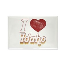 I Love Idaho (Vintage) Rectangle Magnet (10 pack)