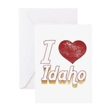 I Love Idaho (Vintage) Greeting Card