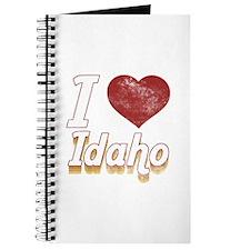 I Love Idaho (Vintage) Journal