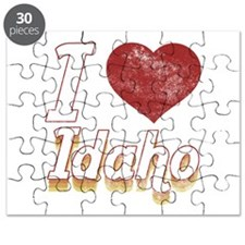 I Love Idaho (Vintage) Puzzle