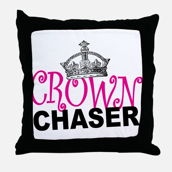 Crown Chaser Throw Pillow