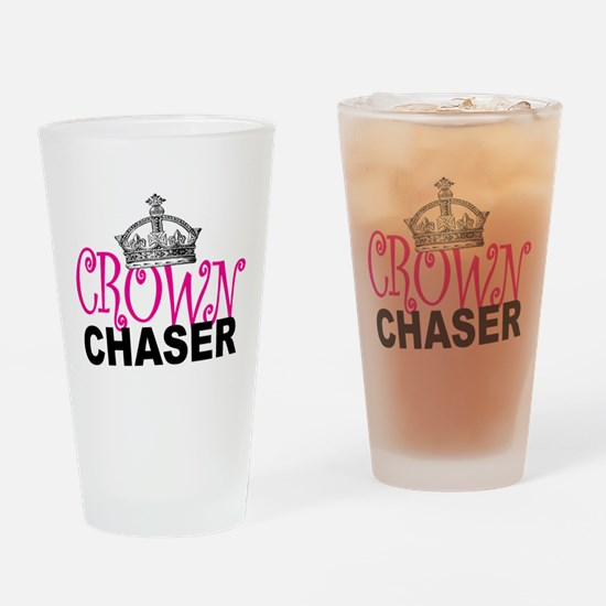Crown Chaser Drinking Glass