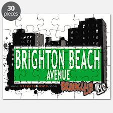 Brighton Beach avenue, BROOKLYN, NYC Puzzle