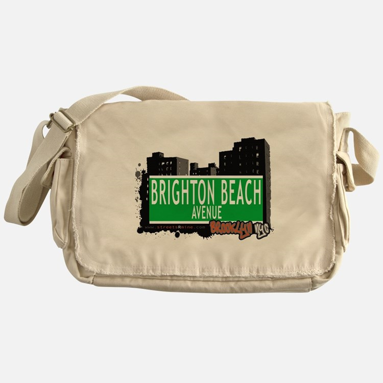 Brighton Beach avenue, BROOKLYN, NYC Messenger Bag