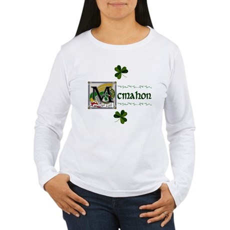 McMahon Celtic Dragon Women's Long Sleeve T-Shirt