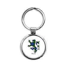 Lion - Blair Round Keychain