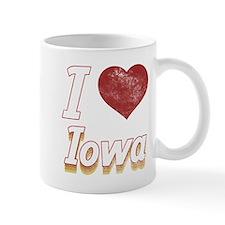 I Love Iowa (Vintage) Mug