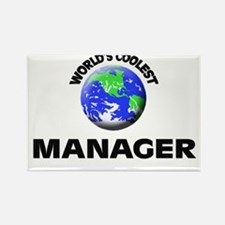 World's Coolest Manager Rectangle Magnet