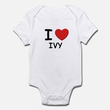 I love ivy Infant Bodysuit