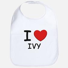 I love ivy Bib