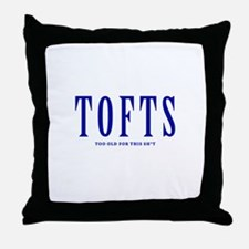 TOFTS for light shirt Throw Pillow