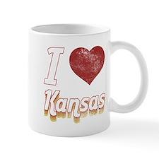 I Love Kansas (Vintage) Mug