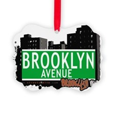 Brooklyn avenue, BROOKLYN, NYC Ornament