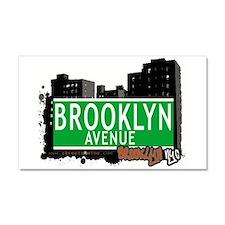 Brooklyn avenue, BROOKLYN, NYC Car Magnet 20 x 12