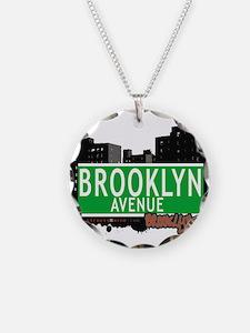 Brooklyn avenue, BROOKLYN, NYC Necklace