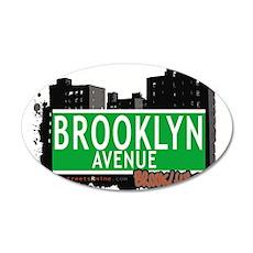 Brooklyn avenue, BROOKLYN, NYC Wall Decal