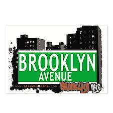 Brooklyn avenue, BROOKLYN, NYC Postcards (Package