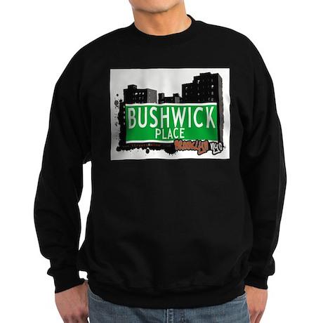 Bushwick place, BROOKLYN, NYC Sweatshirt (dark)