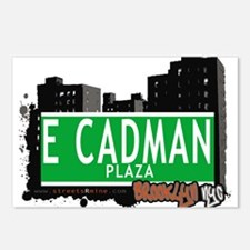 E Cadman plaza, BROOKLYN, NYC Postcards (Package o