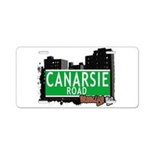 Canarsie road, BROOKLYN, NYC Aluminum License Plat