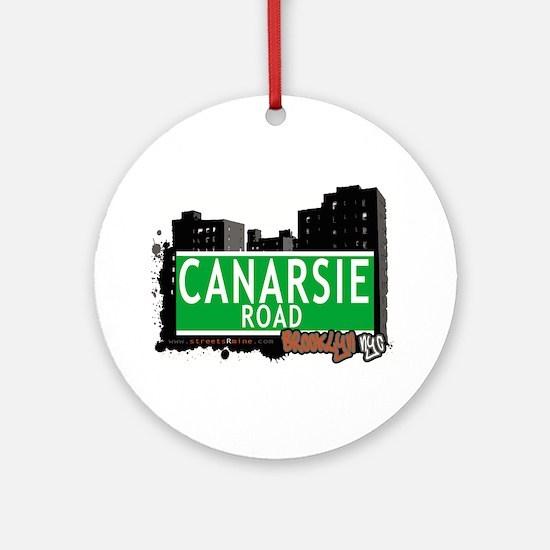 Canarsie road, BROOKLYN, NYC Ornament (Round)